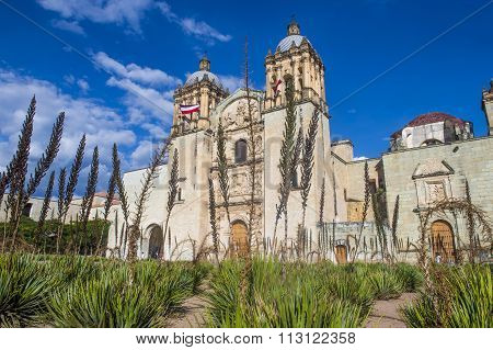 The Church Of Santo Domingo De Guzman In Oaxaca Mexico