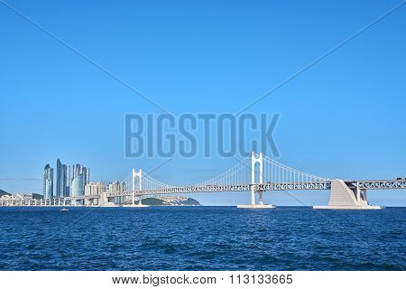 Gwangan Big Bridge And Marine City