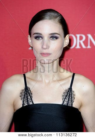 Rooney Mara at the 27th Annual Palm Springs International Film Festival Awards Gala held at the Palm Springs Convention Center in Palm Springs, USA on January 2, 2016.