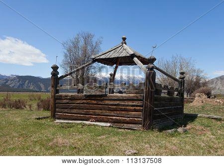 Kazakh Grave