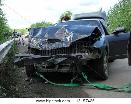 Accident With Participation Of The Car.