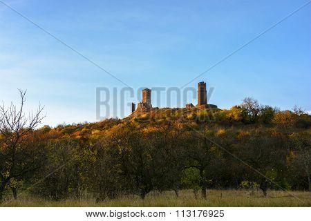 Ruins Hazmburk, Central Bohemian Mountain
