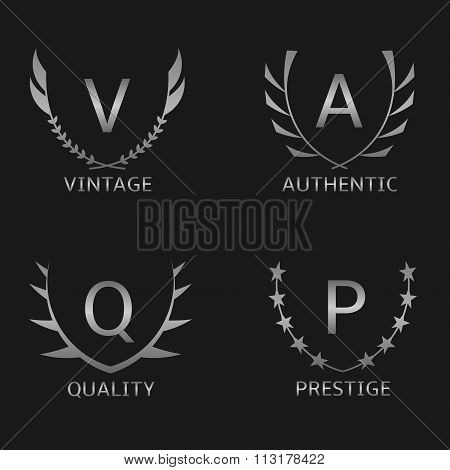 Business logo set