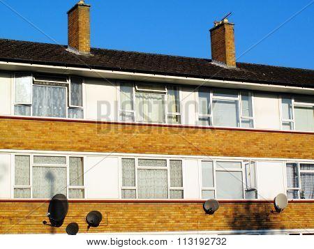 Council house flats