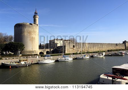 Castle Of Aigues-mortes, Camargue