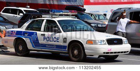 Car of the Service de police de la Ville de Montrea