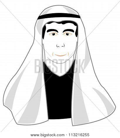 Man in arabic cloth