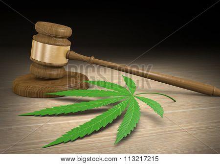 Federal and state laws regulating legal medical marijuana drug use