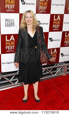 Julie Delpy at the 2012 Los Angeles Film Festival premiere of