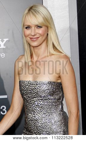 Naomi Watts at the Los Angeles Premiere of