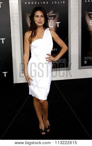 Vail Bloom at the Los Angeles Premiere of