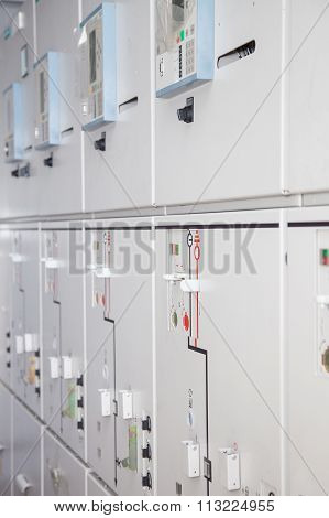 Electrical Control Panel Photo Stock Image