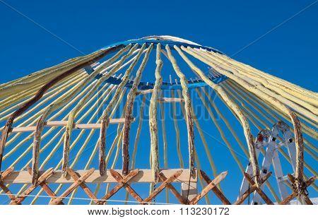 Construction Turkic Yurts