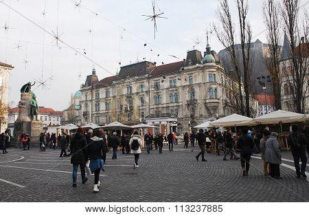 Winter Ljubljana