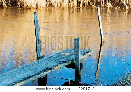 Very Small Jetty