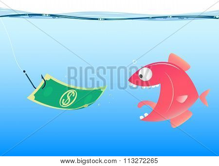 fishing, vector
