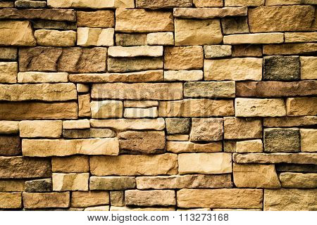 Stone Wall Texture Vintage Style