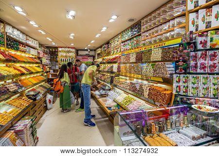Delight Shop In The Grand Bazaar