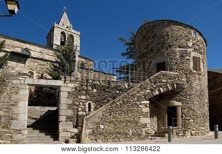 Church Of Nostra Senyora Del Angels, Llivia, Girona, Spain