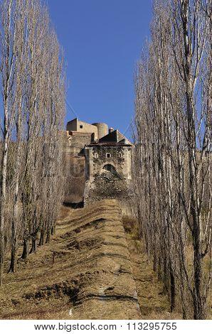 View Of Fort Lagarde, Prats De Mollo, La Preste, Languedoc Roussillon, France
