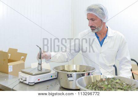 processed food worker