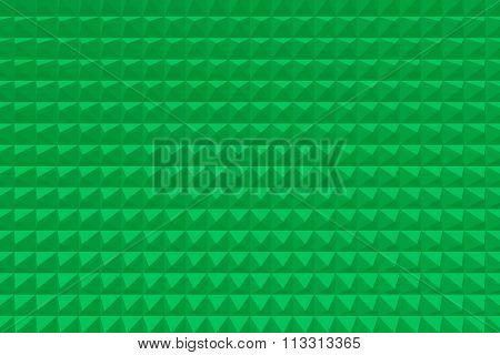 Green Abstract Spinous Texture
