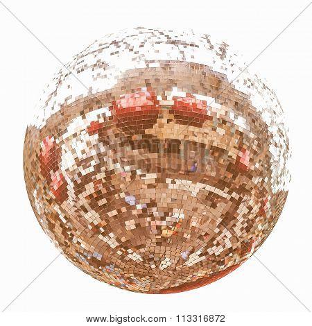 Disco Mirror Ball Vintage