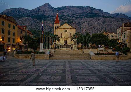 St. Marks, Makarska, Croatia