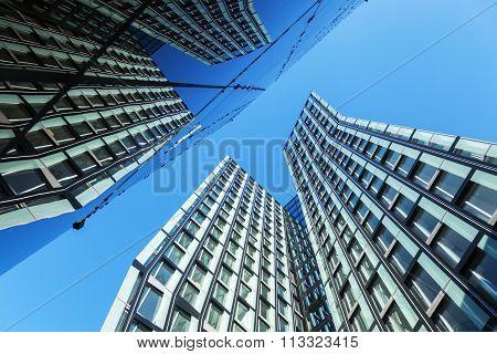 dancing Towers in Hamburg, Germany