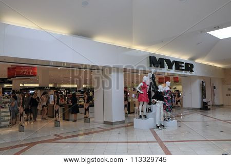 Myer Department store Australia
