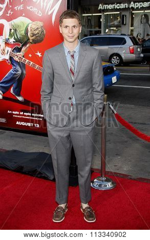 HOLLYWOOD, CALIFORNIA - July 27, 2010. Michael Cera at the Los Angeles premiere of