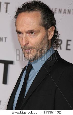 LOS ANGELES - DEC 16:  Emmanuel Lubezki at the