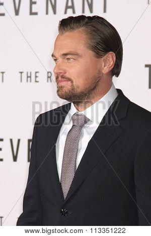 LOS ANGELES - DEC 16:  Leonardo DiCaprio at the