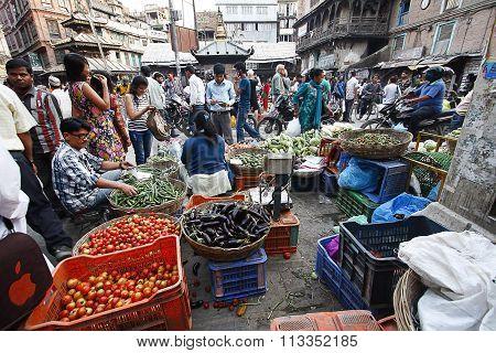 Street Market, Kathmandu Nepal