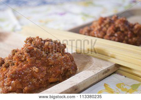 Bolognese Ragu With Spaghetti