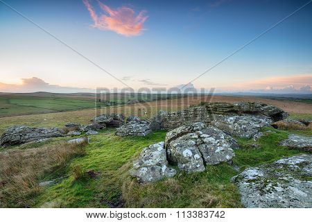 Wild Moorland In Cornwall
