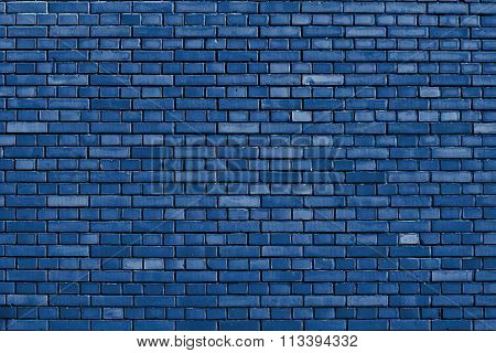 Snorkel Blue Brick Wall Background