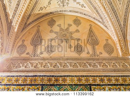 The Carved Plaster Ornaments