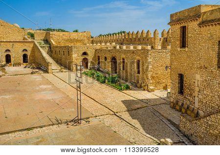 In Grand Fort Of El Kef