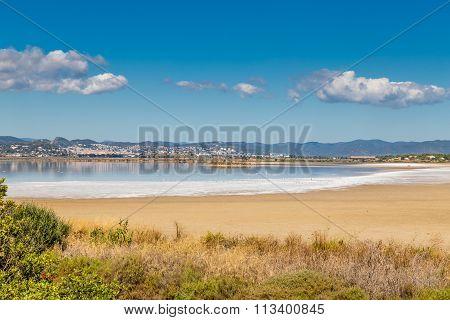 Giens Peninsula And Salt Pan-hyeres,france
