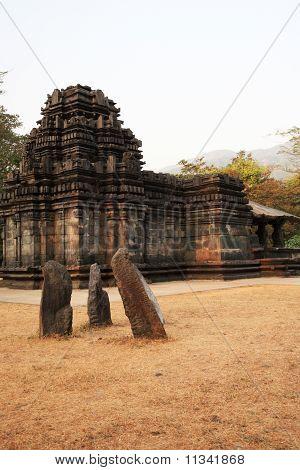 Mahadev Temple India At Sunset