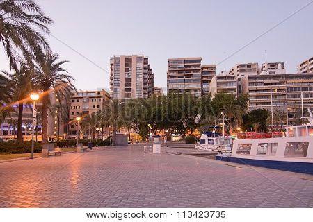 Palma Marina Boats Moored