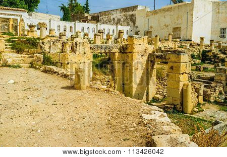 The Foundation Of The Roman Baths