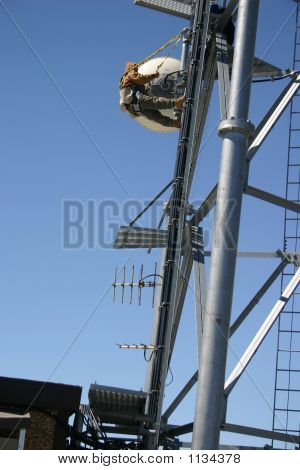 Telecommunication Tower Worker