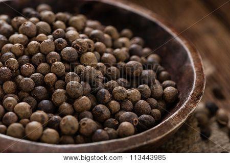 Dried Allspice (selective Focus)