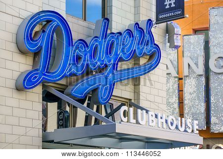 Los Angeles Dodgers Clubhouse Retail Store