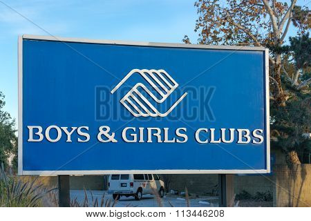Boys & Girls Club Sign And Logo