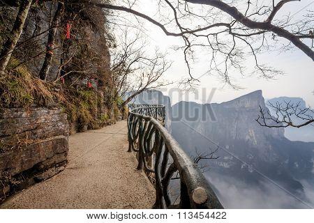 Tian Men Mountains in Zhangjiajie