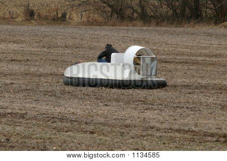 Hovercraft On Land