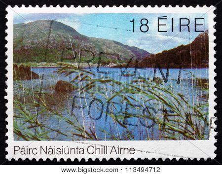 Postage Stamp Ireland 1982 Upper Lake, Killarney National Park